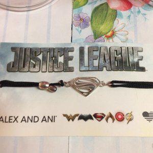 Alex And Ani Superman Justice League Bracelet